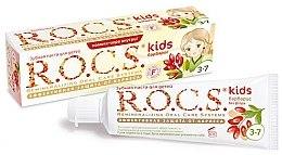 """Voňavky, Parfémy, kozmetika Zubná pasta """"Drač"""" - R.O.C.S. Kids Barberry Toothpaste"""