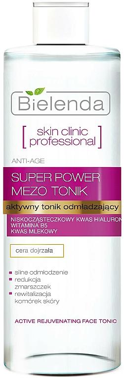 Aktívne tonikum proti starnutiu - Bielenda Skin Clinic Professional Mezo