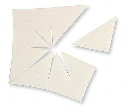 Voňavky, Parfémy, kozmetika Latexová hubka trojuholníkový tvar - Make Up Factory Sponge