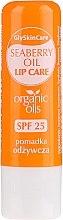 Voňavky, Parfémy, kozmetika Balzam na pery s organickým rakytníkovým olejom - GlySkinCare Organic Seaberry Oil Lip Care