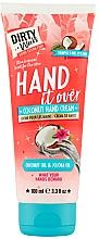 Voňavky, Parfémy, kozmetika Kokosový krém na ruky - Dirty Works Coconut Hand Cream