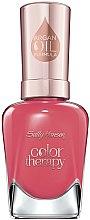 Voňavky, Parfémy, kozmetika Lak na nechty s arganovým olejom - Sally Hansen Color Therapy Nail Polish
