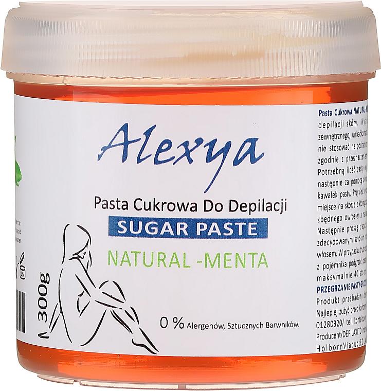 "Shugaring pasta ""Mäta"" - Alexya Sugar Paste Natural Menta"