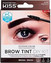 Voňavky, Parfémy, kozmetika Tint na obočie - Kiss Brow Tint DIY Kit