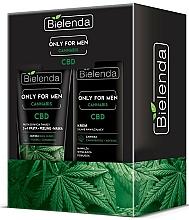 Voňavky, Parfémy, kozmetika Sada - Bielenda Only For Men Cannabis (cr/50ml + paste/150g)