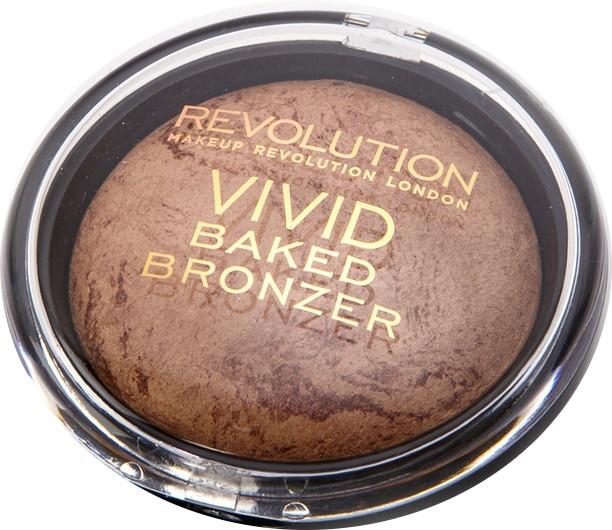 Zapečený bronzujúci púder - Makeup Revolution Vivid Baked Bronzer — Obrázky N1