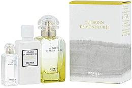 Voňavky, Parfémy, kozmetika Hermes Le Jardin de Monsieur Li - Sada (edt/50ml + b/lot/40ml + edt/7.5ml)