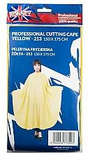 Voňavky, Parfémy, kozmetika Kadernícky plášť, žltý - Ronney Professional Cutting Cape