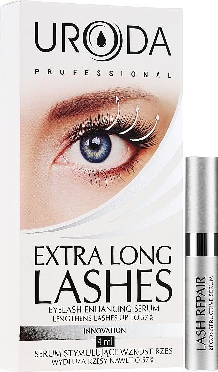 Sérum pre rast rias - Uroda Professional Extra Long Lashes Enhancing Serum