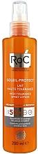 Voňavky, Parfémy, kozmetika Lotion v spreji s ochranou pred slnkom - RoC Soleil-Protect High Tolerance Lotion Spray SPF50