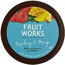 "Voňavky, Parfémy, kozmetika Olej na telo ""Malina a mango"" - Grace Cole Fruit Works Body Butter Raspberry & Mango"