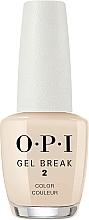 Voňavky, Parfémy, kozmetika Spevňujúci farebný lak - O.P.I Gel Break Lacquer