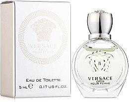 Voňavky, Parfémy, kozmetika Versace Eros Pour Femme - Toaletná voda (mini)