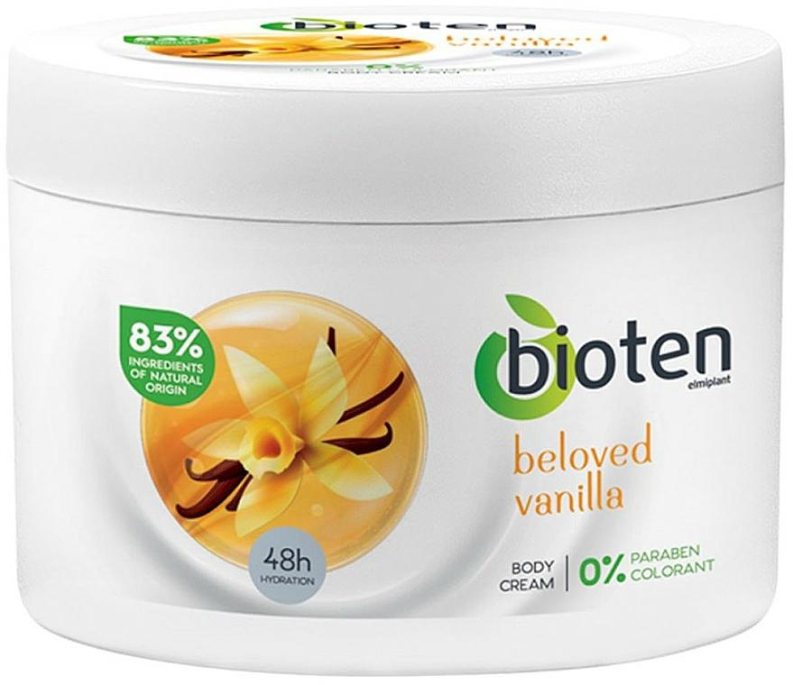 "Hydratačný krém na telo ""Vanilka"" - Bioten Beloved Vanilla Body Cream — Obrázky N1"