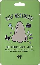 Voňavky, Parfémy, kozmetika Naplasť motýľ na nos proti čiernym bodkám - G9Skin Self Aesthetic Butterfly Nose Strip