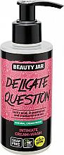 Voňavky, Parfémy, kozmetika Krémový gél pre intímnu hygienu - Beauty Jar Delicate Question Intimate Cream-Wash