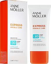 Voňavky, Parfémy, kozmetika Fluid na tvár s SPF ochranou - Anne Moller Double Care Ultralight Facial Protection Fluid SPF30