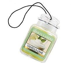 """Voňavky, Parfémy, kozmetika Arómatizator """"Vanilka a limeta"""" - Yankee Candle Vanilla Lime Car Jar Ultimate"""