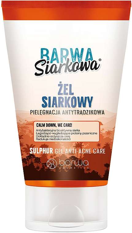 Antibakteriálny gél na umývanie - Barwa Anti-Acne Sulfuric Cleansing Gel