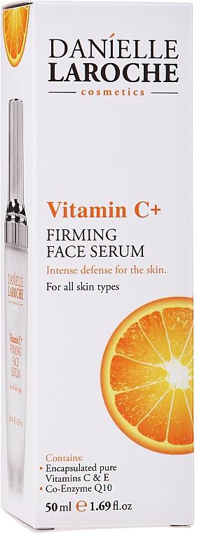 Spevňujúce sérum na tvár s vitamínom C - Danielle Laroche Cosmetics Firming Face Serum Vitamin C+