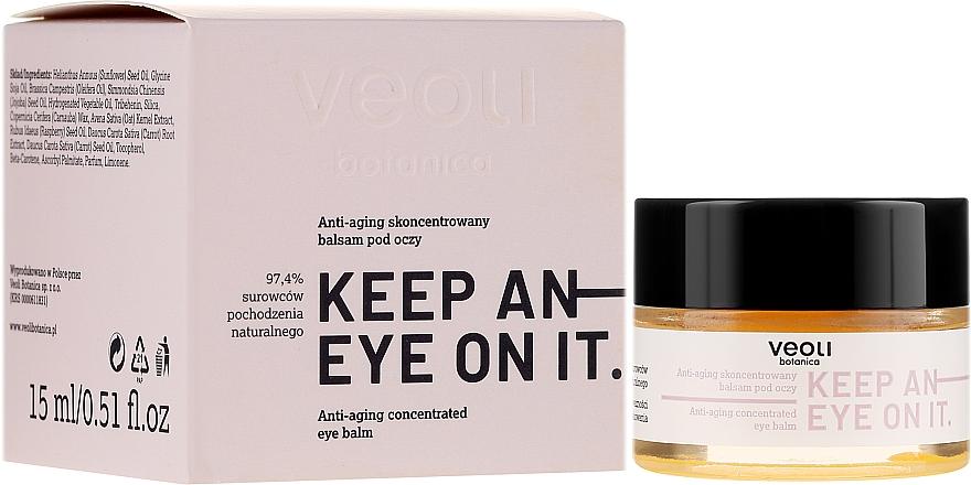 Koncentrovaný balzam na oči proti starnutiu - Veoli Botanica Anti-aging Concentrated Eye Balm Keep An Eye On It