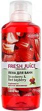 """Voňavky, Parfémy, kozmetika Kúpeľová pena """"Jahoda a vresna červená"""" - Fresh Juice Strawberry and Red Bayberry"""