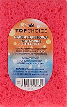 Voňavky, Parfémy, kozmetika Špongia do kúpeľa 30437, ružová - Top Choice
