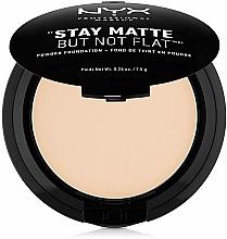 Voňavky, Parfémy, kozmetika Púder na tvár - NYX Professional Makeup Stay Matte But Not Flat Powder Foundation