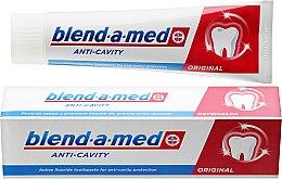 """Voňavky, Parfémy, kozmetika Zubná pasta """"Anti-kaz"""" - Blend-a-med Anti-Cavity Original Toothpaste"""
