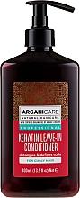 Voňavky, Parfémy, kozmetika Nezmazateľný kondicionér pre kučeravé vlasy s keratínom - Arganicare Keratin Leave-in Conditioner For Curly Hair