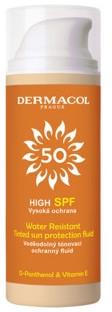 Vodotesný tónovací fluid s ochranou pred slnkom - Dermacol Sun Tinted Water Resistant Fluid SPF50