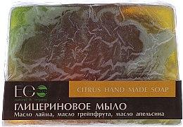 Voňavky, Parfémy, kozmetika Glycerínové mydlo citrusové - ECO Laboratorie Citrus Hand Made Soap