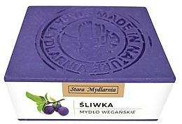 Voňavky, Parfémy, kozmetika Prírodné mydlo Slivkový olej - Stara Mydlarnia Body Mania Plum Oil Natural Soap