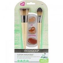 Voňavky, Parfémy, kozmetika Sada štetcov na líčenie - Eco Tools Custom Match Duo