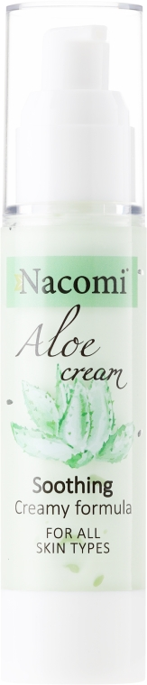 """Krém-gél pre tvár """"Aloe"""" - Nacomi Aloe Cream"""