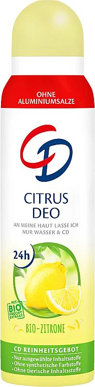 """Dezodorant-antiprespirant """"Citrus"""" - CD Deo"""