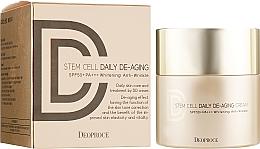 Voňavky, Parfémy, kozmetika DD krém proti starnutiu s SPF ochranou - Deoproce Stem Cell Daily-aging Cream
