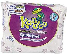 """Voňavky, Parfémy, kozmetika Mokrý toaletný papier """"Kandoo"""" pre deti - Dodot"""