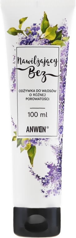 Kondicionér na porézne vlasy - Anwen Conditioner for Hair with Different Porosity Moisturizing Lilac