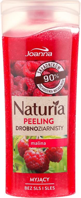 """Sprchový peeling jemnozrnný """"Malina"""" - Joanna Naturia Peeling"""