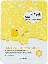 Voňavky, Parfémy, kozmetika Vajickova pletova maska - Esfolio Pure Skin Egg Essence Mask Sheet