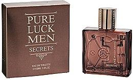 Voňavky, Parfémy, kozmetika Linn Young Pure Luck Men Secrets - Toaletná voda