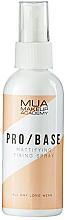 Voňavky, Parfémy, kozmetika Zmatňujúci fixačný sprej - MUA Pro Base Mattifying Fixing Spray