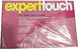 Voňavky, Parfémy, kozmetika Jednorazové uteráky bez chĺpkov - O.P.I. Expert Expert Touch Table Towels
