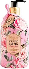 Voňavky, Parfémy, kozmetika Tekuté mydlo na ruky - IDC Institute Scented Garden Hand Wash Country Rose