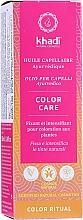 Voňavky, Parfémy, kozmetika Ajurvédsky olej na vlasy - Khadi Ayurvedic Color Care Hair Oil