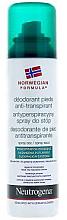 Voňavky, Parfémy, kozmetika Deodorant na stopy - Neutrogena Formula Norweska Spray