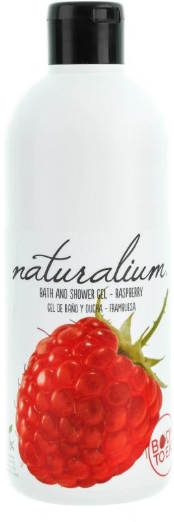 """Výživný sprchový gél """"Malina"""" - Naturalium Bath And Shower Gel Raspberry"""