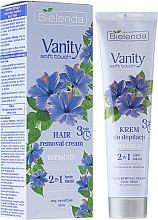 """Voňavky, Parfémy, kozmetika Depilačný krém """"Hibiscus"""" - Bielenda Vanity Soft Touch Hibiscus"""