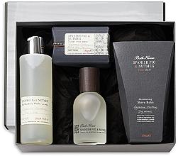 Voňavky, Parfémy, kozmetika Bath House Spanish Fig and Nutmeg - Sada (edc/100ml + sh/gel/260ml + shave/balm/100ml + soap/150g)